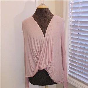 Long Sleeve Wrap Top